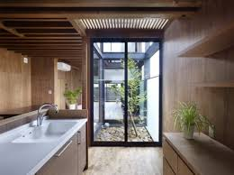 small home design japan ogaki house s sloping roof creates a safe haven from harsh