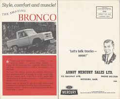 Old Ford Truck Brochures - cc brochure 1966 mercury pickup truck u2013 for the canadian paul