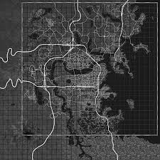 Fallout New Vegas Full Map by Realistic World Map Fallout 4 Fo4 Mods