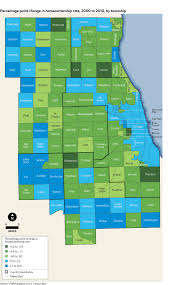 Chicago Suburbs Map U S Census Bureau Releases Analysis Of Housing Data Cmap