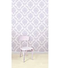 Peel And Stick Removable Wallpaper by Wallpops Nuwallpaper Purple Ariel Damask Peel And Stick Wallpaper