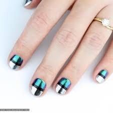 chrome nail art tutorial