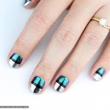 chrome nail art tutorial