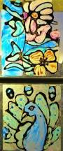 Kids Stained Glass Craft - a faithful attempt illuminated initials art activities for kids