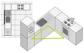 u shaped kitchen with island floor plan wood floors