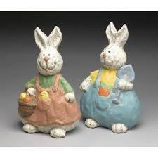 paper mache easter bunny easter decorative objects you ll wayfair