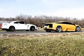 nissan gtr vs 10 supercar vs nissan gt r drag races
