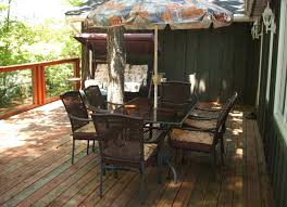 Deck With Patio canning lake angelas cottage cottage care rentals u0026 property