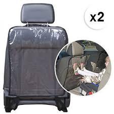 protège siège auto bébé lot de 2 protection housse dossier arrière siège auto voiture enfant