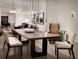 Contemporary Dining Room Furniture Contemporary Dining Room The Modern Wood Dining Table The