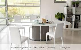 tavoli sala da pranzo calligaris tavoli e sedie poggi arredamenti genova il centro