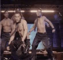channing tatum stripping magic mike magic mike birthday gifs tenor