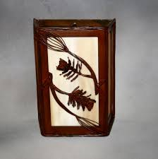 Wall Scone Pine Cone And Branch Wall Sconce U2013 Frontier Iron Works
