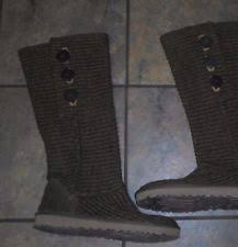 womens knit boots size 11 ugg knit boots size 11 ebay