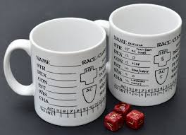 oubliette magazine character sheet mugs on sale now
