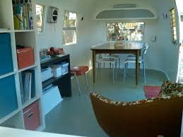 Vintage Airstream Interior by 1963 Airstream Safari The Cyclocontractor