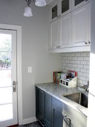 grey paint colors laundry room traditional with none