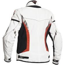 white motorcycle jacket lindstrands zoya ladies textile motorcycle jacket white scarlet