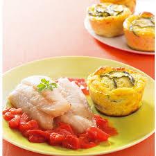 cuisiner merlan merlan au four flan de courgettes recette minceur weight watchers