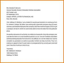 scholarship appeal letter sample step by step