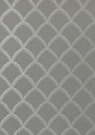 thibaut carolyn trellis wallpaper in metallic silver pardus