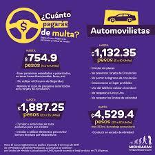 cuanto es la multa por no presentar la declaracion jurada 2015 incrementan multas de tránsito en morelia conoce los costos michoacán