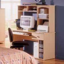 Maple Desk With Hutch Student Desk And Hutch In Maple Alegria Nexera 5610