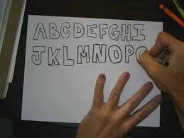 block letters capital letters in a block lettering style art