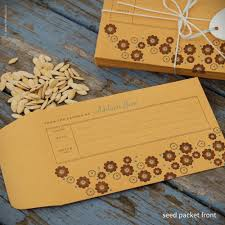 personalized seed packets inkello letterpress flower personalized seed envelopes 288