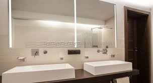 Bathroom Mirror With Built In Light Bathroom Mirror With Built In Lights And Shaver Socket Small