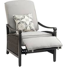 Outdoor Patio Furniture Atlanta by Reclining Patio Chairs With Ottoman Charming Reclining Patio