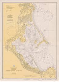 Plymouth England Map by Old Nautical Charts Of Plymouth Harbor