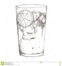 cocktail drawing tropical cocktail sketch icon stock illustration image 73984899
