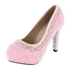 wedding shoes pink pink bridal shoes ebay