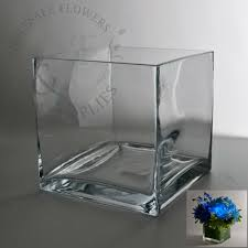 Clear Vases Bulk Interior Design Square Glass Cube Vase 6x6 Wholesale Flowers And