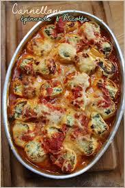 brouillon de cuisine cannelloni aux épinards et ricotta mais façon oliver mes
