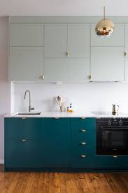 Hanging Upper Kitchen Cabinets by Best 25 Color Kitchen Cabinets Ideas Only On Pinterest Colored