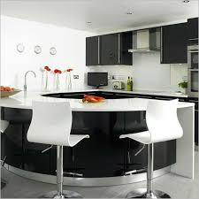 kitchen room visual space division with kitchen island industry
