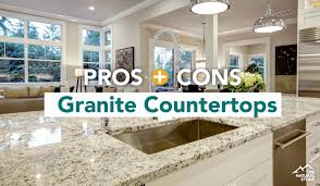 kitchen cabinets and granite countertops near me pros cons of granite factors you should consider