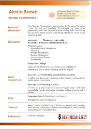 exles of business resumes business administration resume sle 2017 3 sles exles