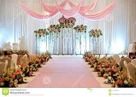 small home wedding decoration ideas simple home wedding decoration ideashome ideas stage golden