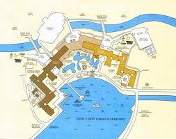 Caribbean Beach Resort Disney Map by Disney Echo