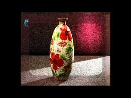 How To Paint Inside Glass Vases Decoupage Make Vases Of Usual Glass Bottles Using Glass Painting