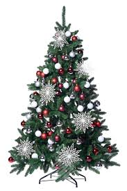 6ft christmas tree patton fir 6ft decorated artificial christmas tree all around
