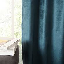 Tan And Blue Curtains Window Treatments West Elm