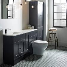 Bathroom Fitted Furniture Burford Slate Grey Fitted Bathroom Furniture Roper
