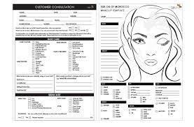hair and makeup consultation form makeup vidalondon