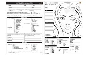 makeup artist contract template forms silk oil of morocco bridal makeup consultation