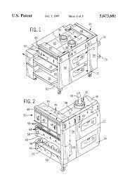 patent us5673681 ventilation system for conveyor oven google