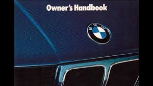 bmw e34 525i new owners manual audiobook youtube